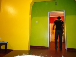 Colour mix for the house in Nairobi