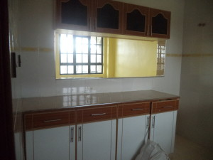 Kitchen cabinets for Kitengela house