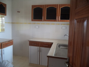 Kitchen for the Kitengela property for rent