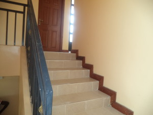 Stairs for the Kitengela house for rent in Kenya