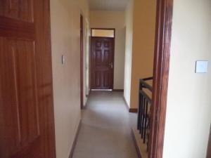 The corridor for Houses for rent in Kitengela Kenya